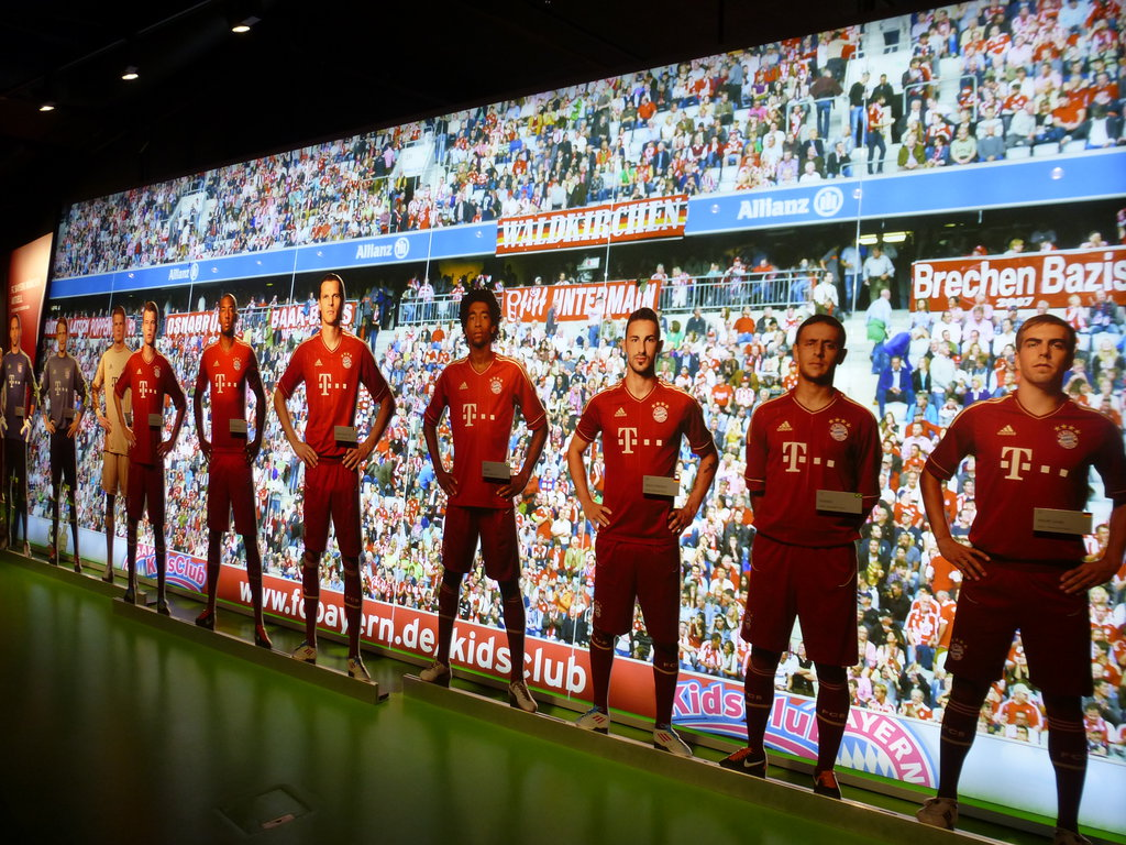 Музей футбольного клуба бавария мюнхен