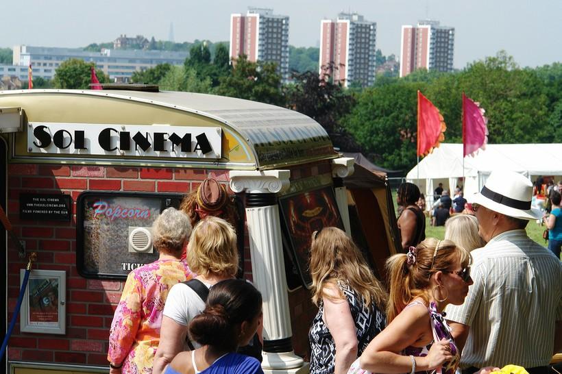 Самый маленький кинотеатр находится в Уэльсе