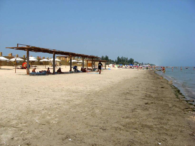 геническая горка фото пляжа правило