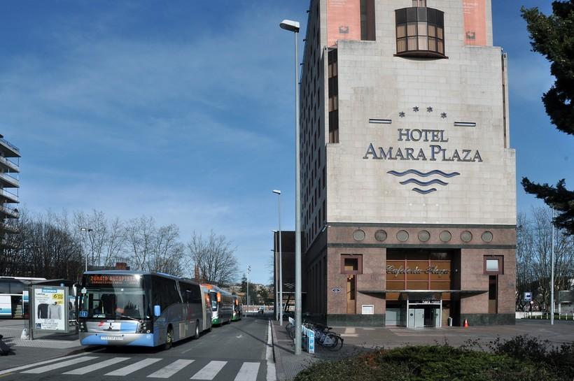 автовокзал Сан-Себастьяна на Plaza de Pío XII