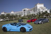 Гости отелей Waldorf Astoria за рулем новейших моделей Lamborghini!