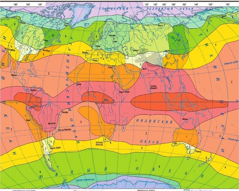Климат картинки карта