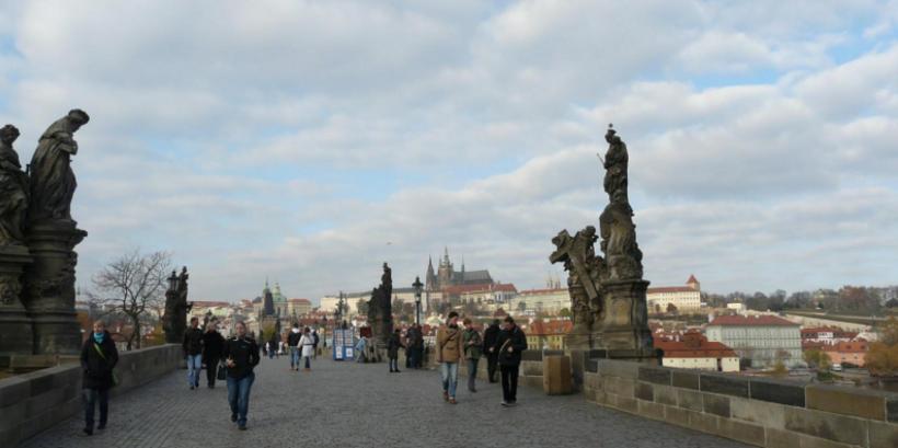Прогулки по ноябрьской Праге