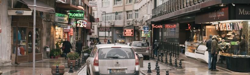 Пустынные улицы города