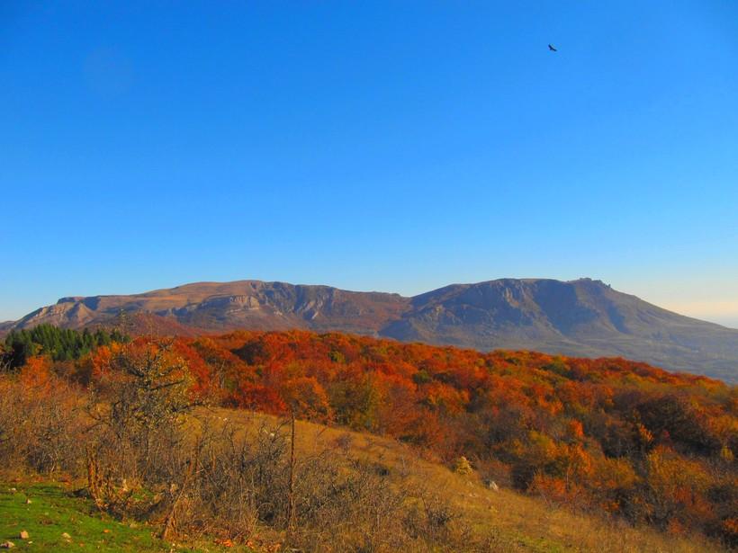 Ноябрь в горном Крыму