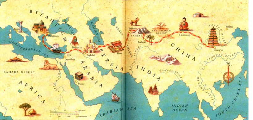Великий шёлковый путь: почему в колодцах посреди пустыни всегда была вода
