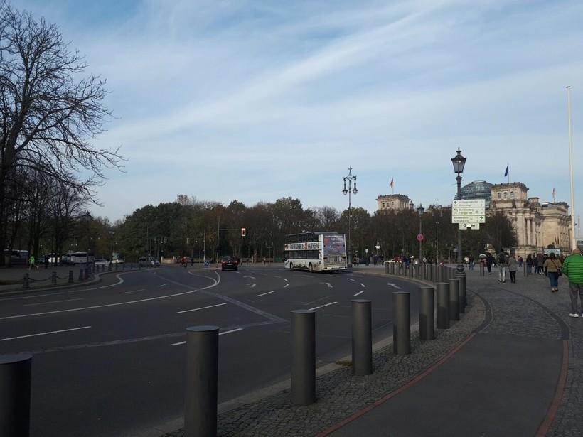 На улицах Берлина, декабрь 2017