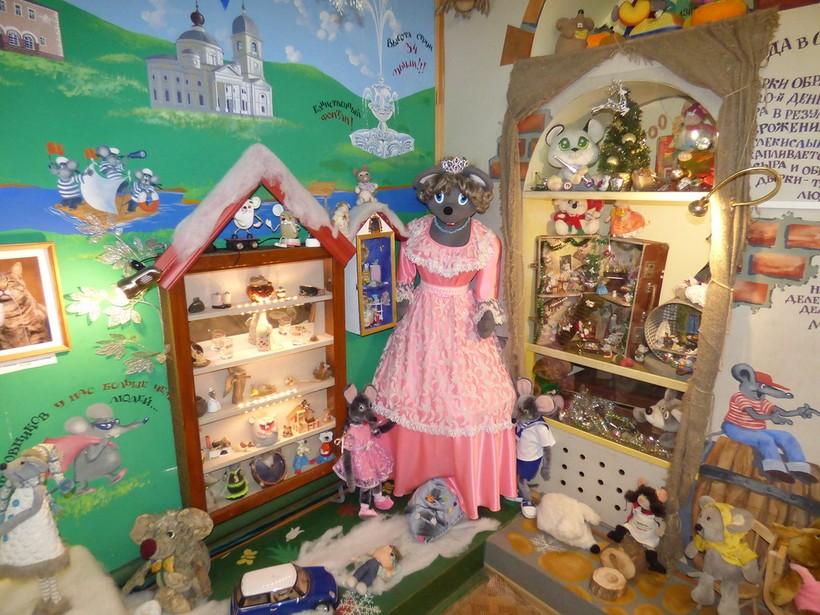 обитатели музея мыши