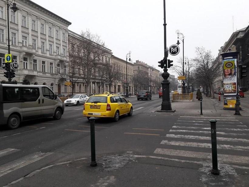 Зимние улицы Будапешта