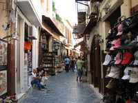 Шопинг-улица в Ретимно