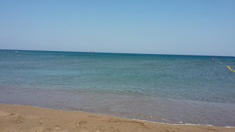 Пляж Фалираки на Родосе один из самых красивых