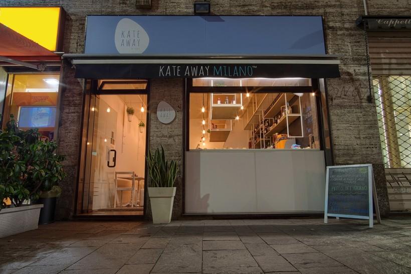 Кафе Kate Away в Милане