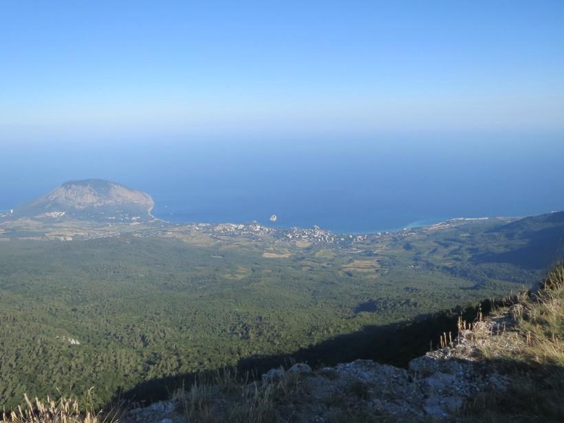 Взгляд на Крым с высоты птичьего полета