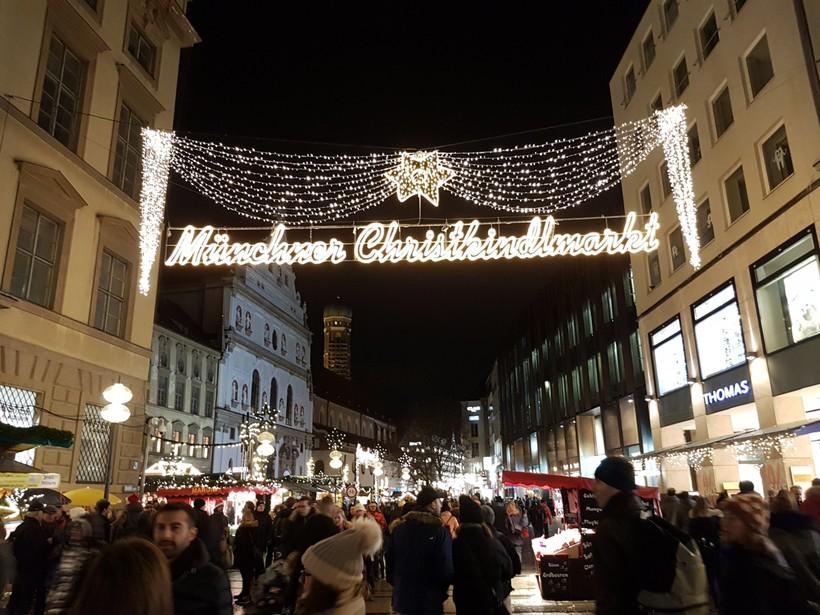 Новогодняя ярмарка в Мюнхене