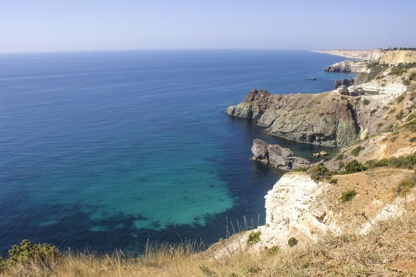 Крым, мыс Фиолент в июне