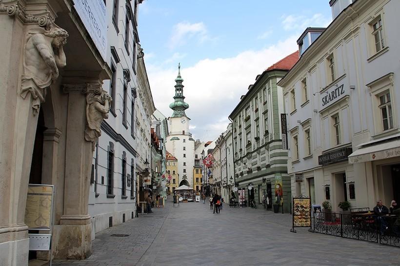 Братислава: историческая часть города