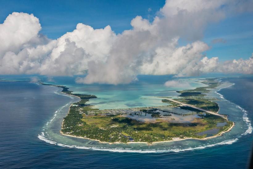 Кирибати: океан наступает