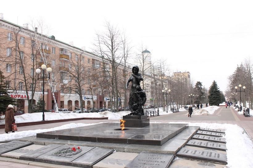 Белгород — вечный огонь