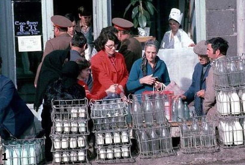Запрещенные фото магазинов СССР