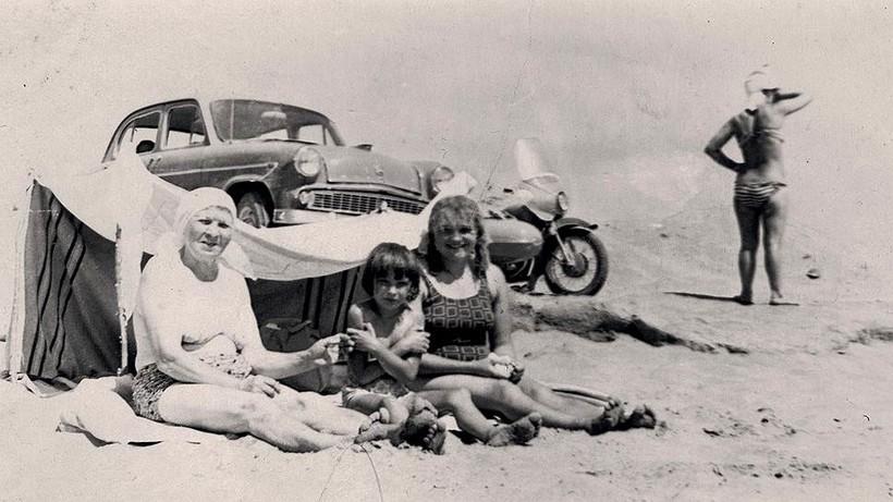 Советский автотуризм 60-х годов: какой была дорога к морю для наших бабушек и дедушек