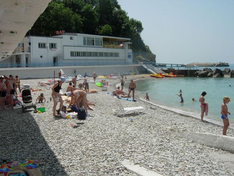 Реальные фотографии пляжа дивноморска
