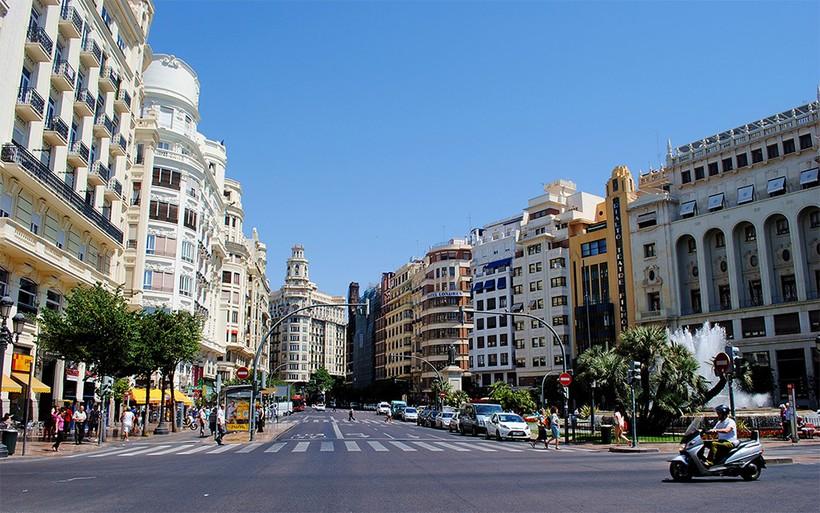 Испания, Валенсия: прогулка по центру города