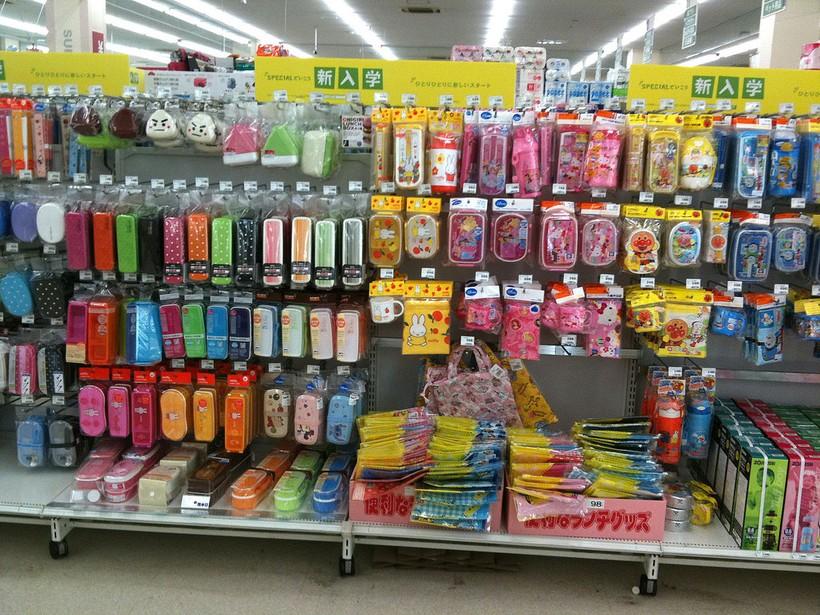 Внутри японского супермаркета
