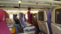 салон самолёта Thai Airwais