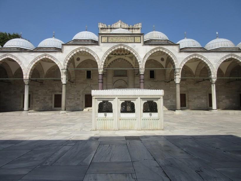 Экскурсия в мечеть Сулеймание