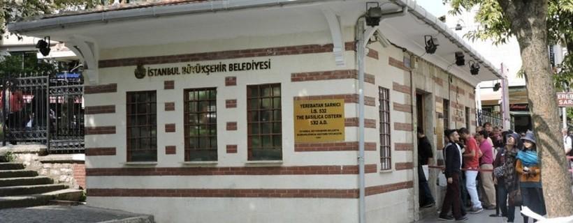 Стамбул: экскурсия в подземное водохранилище