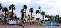 Знаменитый галечный пляж Анталии