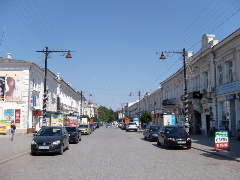 Симферополь: прогулка по городу в дневное время