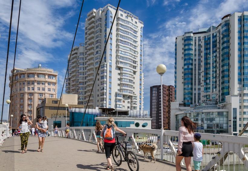 Краснодар: по дороге на пляж