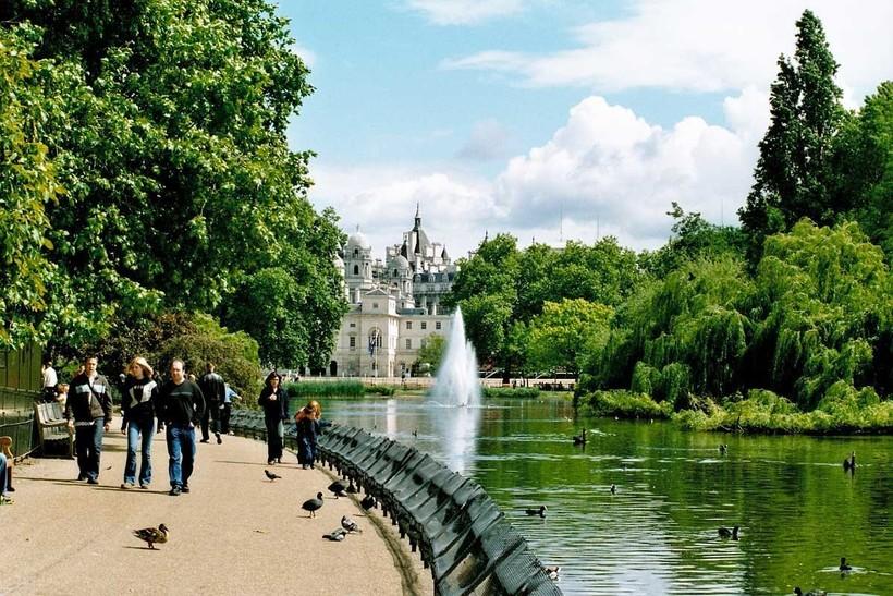 Лондон: прогулка по Сент-Джеймс парку