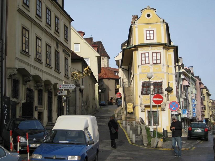 Прогулка по январской Братиславе