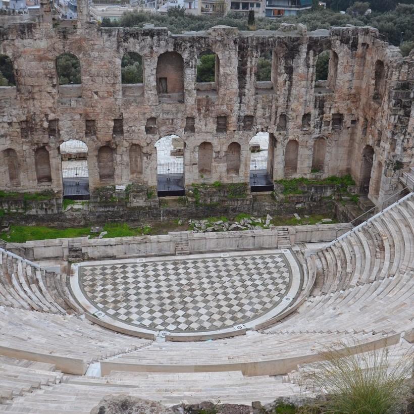 Экскурсия в афинский Акрополь