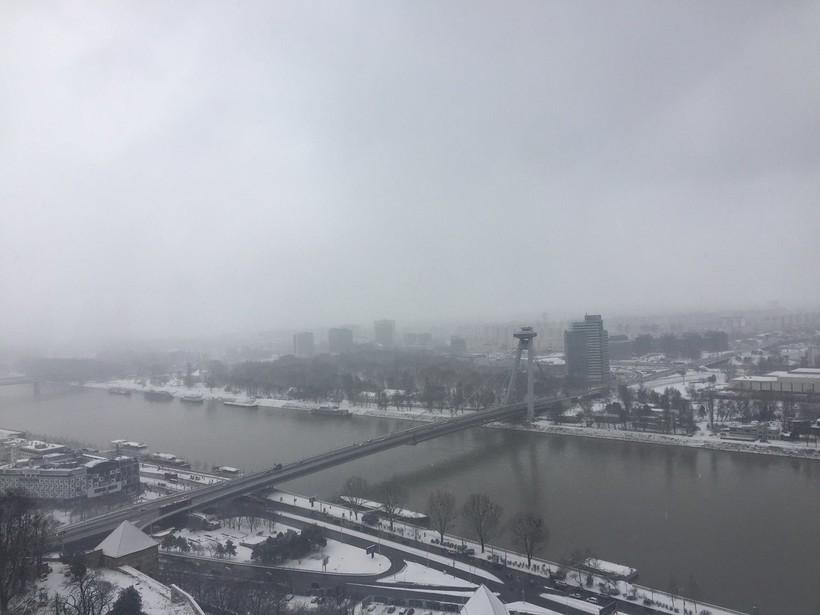 Экскурсия в Братиславский замок, февраль 2018