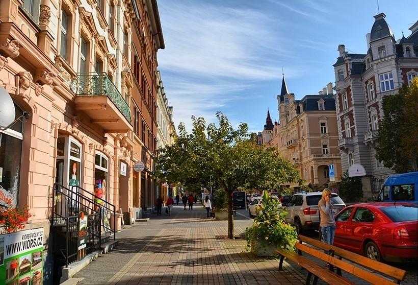 Карловы Вары: прогулка по городу