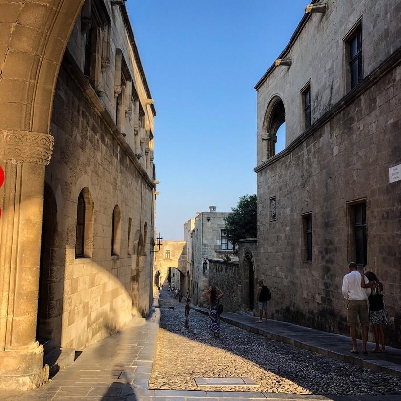 Прогулка по Старому городу Родос, июль 2018
