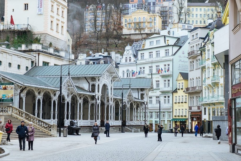 Карловы Вары: прогулка по улицам города