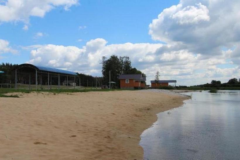 Воронежский пляж в Ступино. Разгар майского дня.