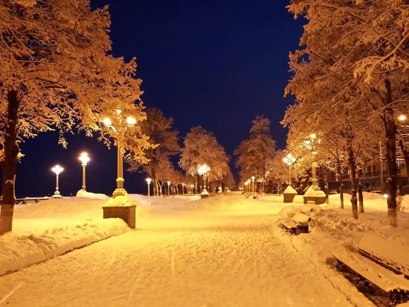 Самара зимой