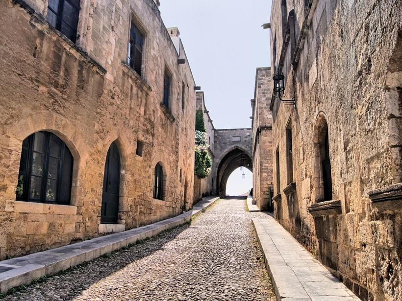 Родос: прогулка по Рыцарской улице