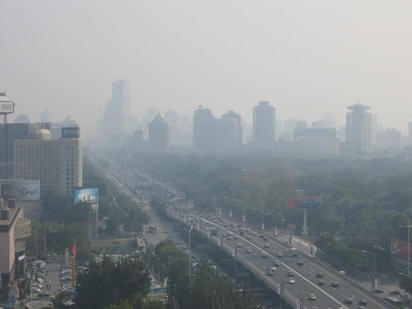 Смог в Пекине в июле