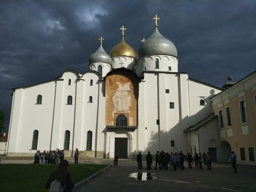 Главный собор Великого Новгорода, май 2018