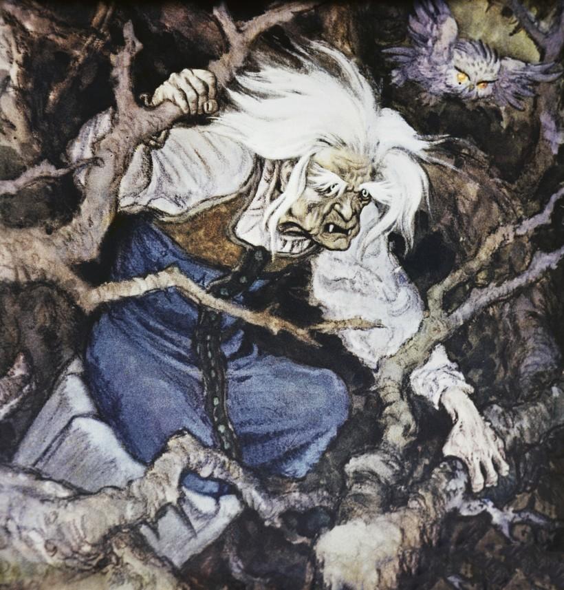 Почему Баба Яга в русских сказках не такой уж плохой персонаж