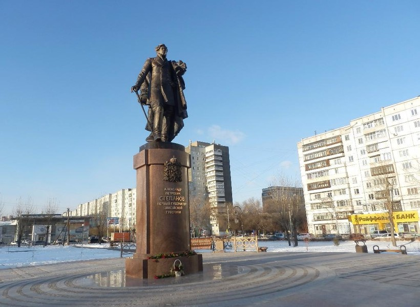 Знакомлюсь с достопримечательностями Красноярска!