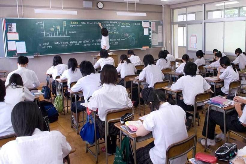 Школьный класс в Японии