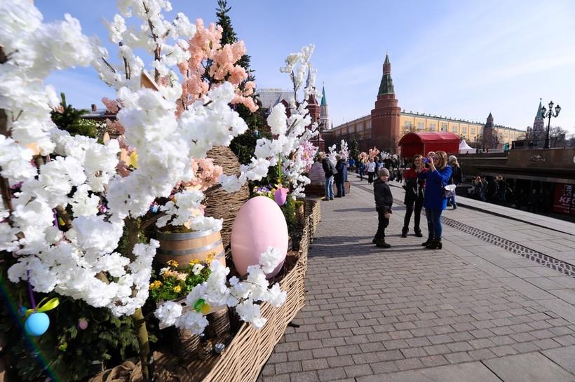 Москва перед Пасхой
