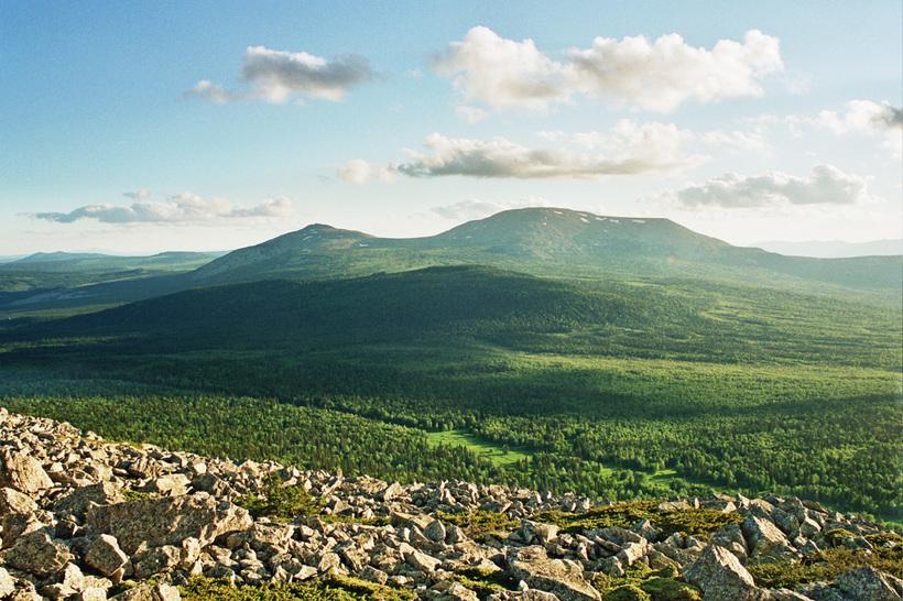 хребты уральских гор в башкирии фото это отличный способ